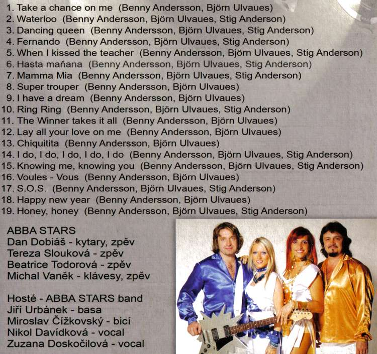 BEST OF ABBA STAR cd